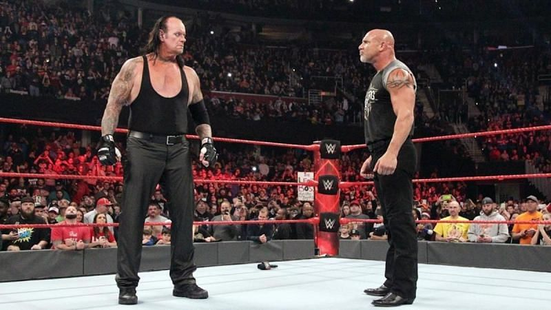 The Undertaker has faced every icon that has been thrown at him