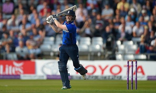 Morgan smashed a fifty in the opening game of the tournament