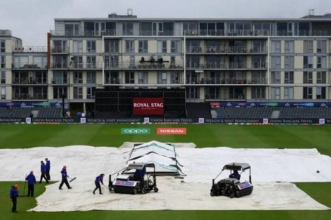 Four matches have been abandoned due to bad weather in England.