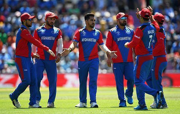 अफगानिस्तान की टीम