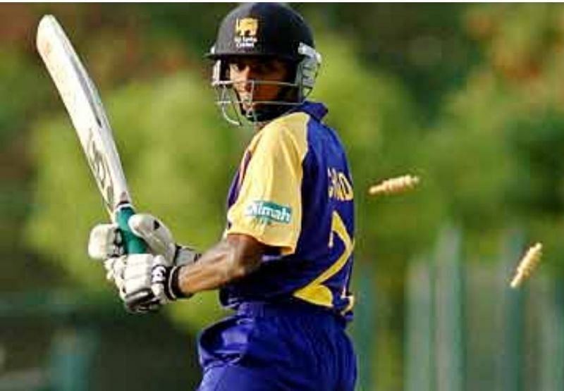 ICC cricket world cup 1996 winner - Upul Chandana of Sri Lanka who doesn't play a single match even though he was in that winning team