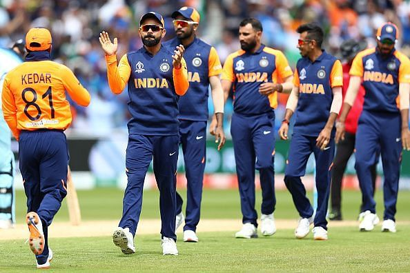 India lost their last game against England at the ICC Cricket World Cup 2019