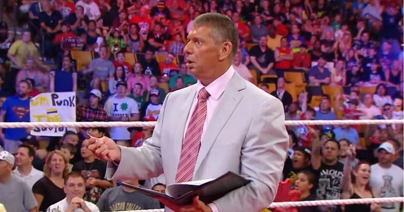 Vince McMahon couldn