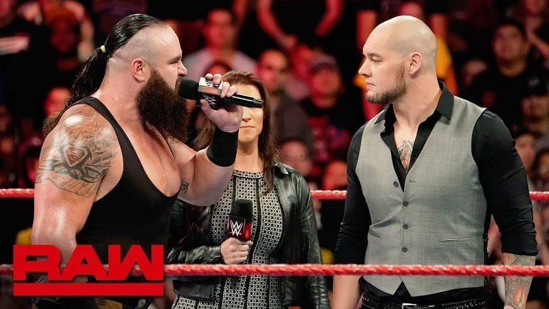 Braun Strowman and Baron Corbin have fought before.