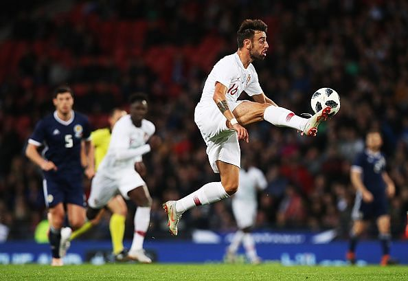 Bruno Fernandes has expressed his desire to play in England
