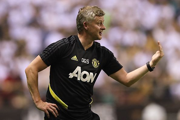 Solskjaer has had a tough time in charge of United so far