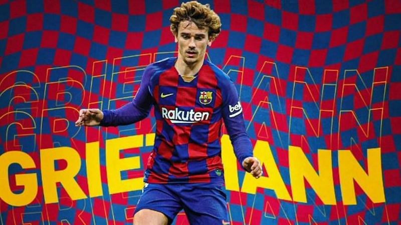 FC Barcelona have paid Antoine Griezmann