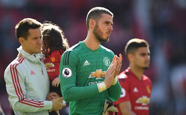 De Gea had a dip in form but is set to remain the No. 1