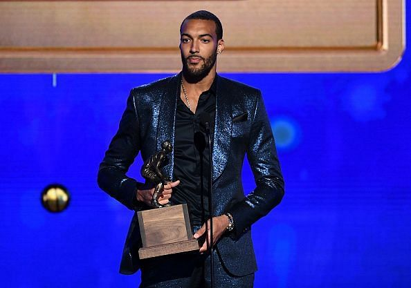 Gobert has won the Defensive Player of the Year accolade in successive seasons