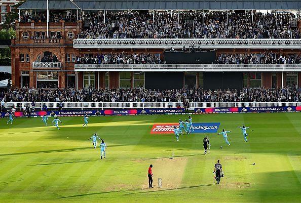 इंग्लैंड  vs न्यूजीलैंड वर्ल्ड कप 2019 फाइनल