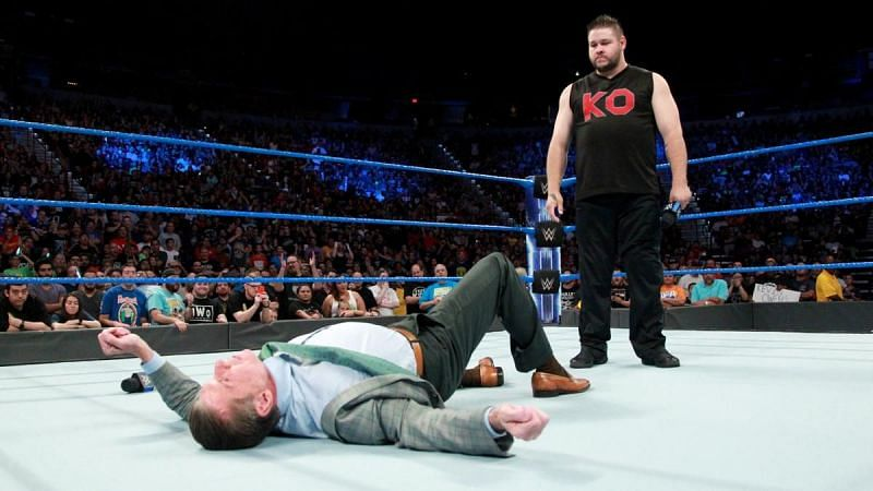 Kevin Owens is willing to quit WWE if Shane McMahon beats him at WWE SummerSlam