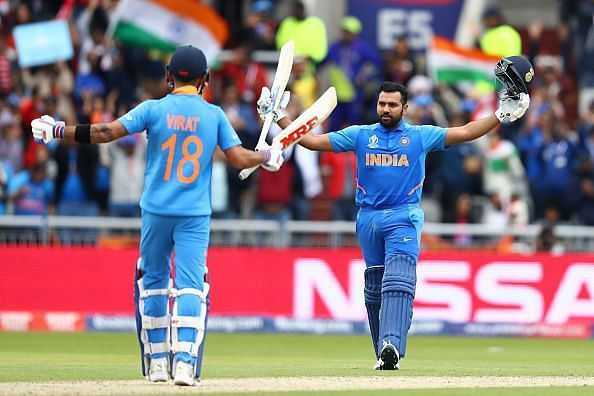 Is Rohit now a better limited overs captain than Kohli?