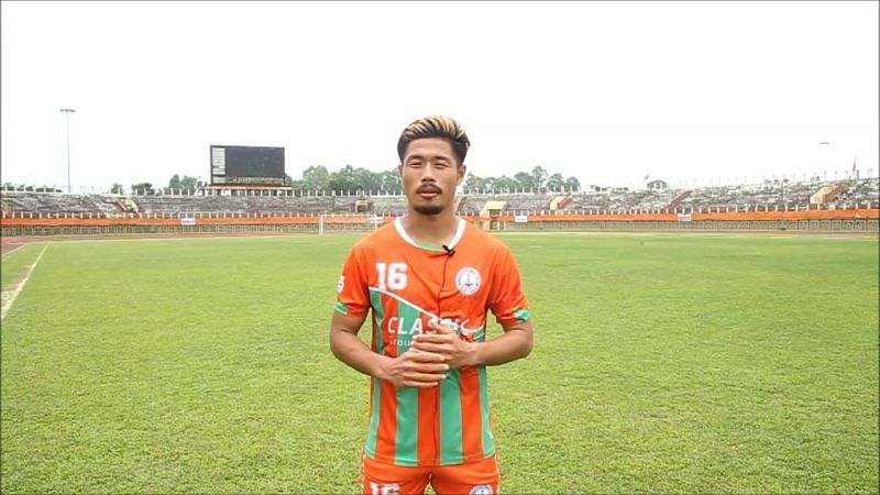 Subhash Singh played for NEROCA FC since 2016