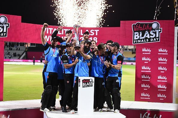 Worcestershire Rapids v Sussex Sharks - Vitality Blast Final