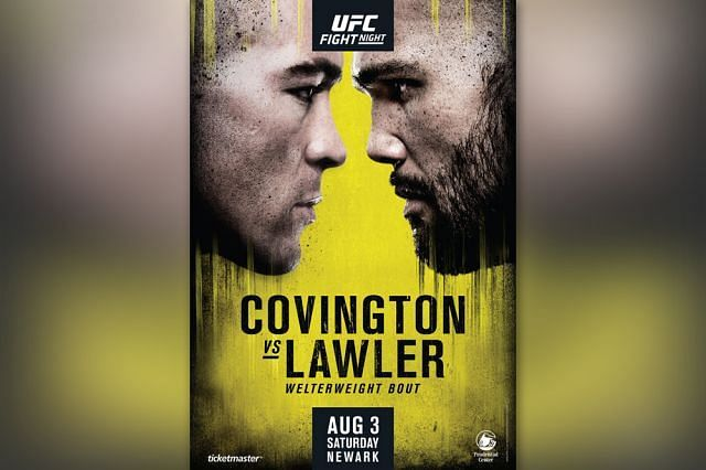 Robbie Lawler faces Colby Covington in a pivotal Welterweight bout this weekend