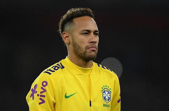 Brazilian forward - Neymar Jr