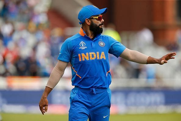2019 ICC Cricket World Cup Semi-final India v New Zealand Jul 10th