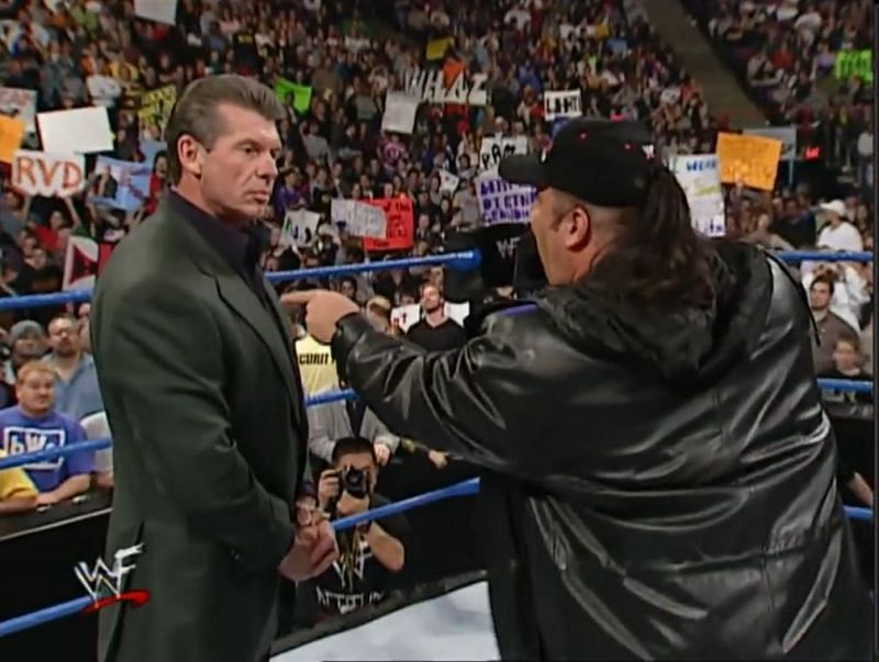 Paul Heyman and Vince McMahon