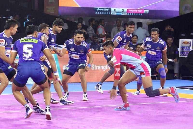 प्रो कबड्डी 2019, 18वां मैच: हरियाणा स्टीलर्स vs जयपुर पिंक पैंथर्स