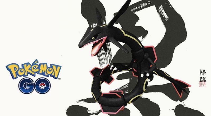 Shiny Rayquaza (Niantic/Pokemon Go)