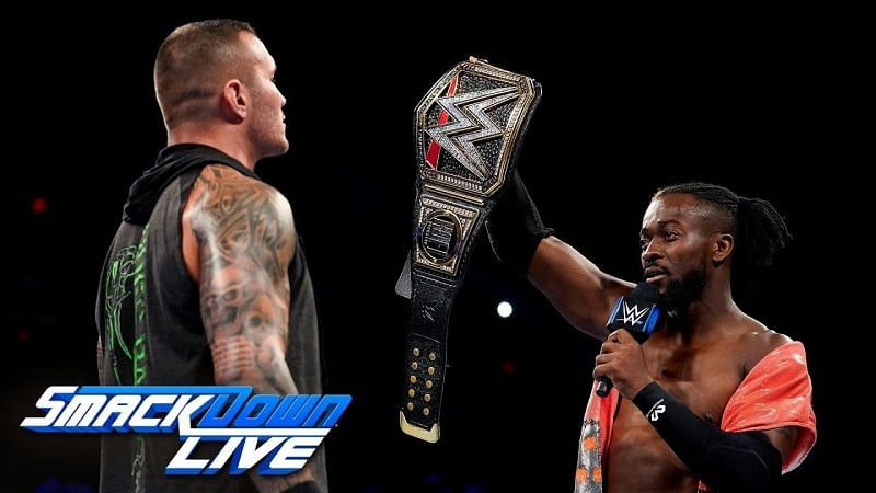 Kofi Kingston challenged Randy Orton to a match at SummerSlam
