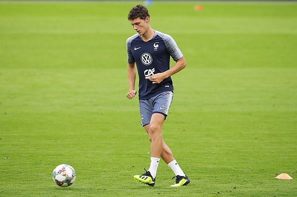 Pavard was stellar in a centerback role for Bayern