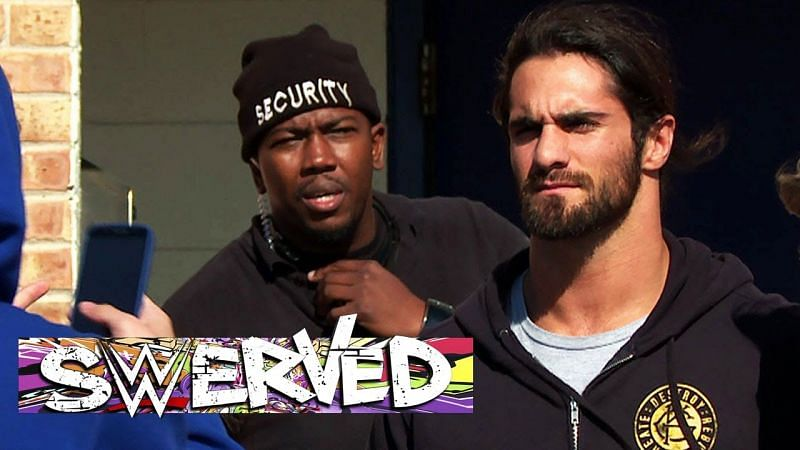 This is Seth Rollins judging you for watching Swerved