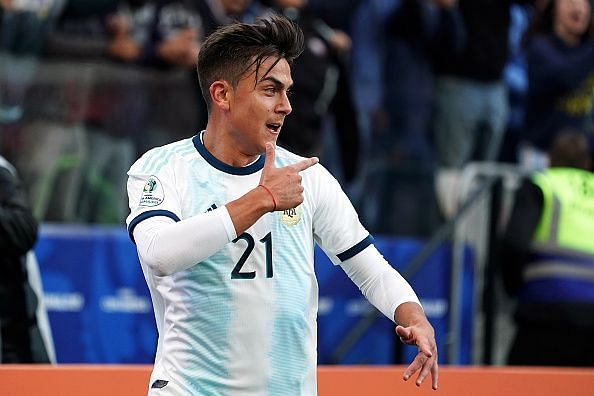 Paulo Dybala has been linked with Manchester United