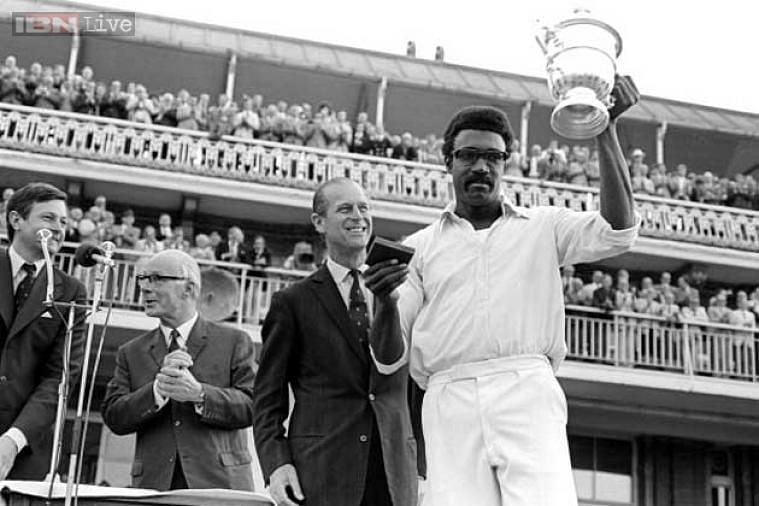 Clive Lloyd led West Indies to a win in the 1975 World Cup