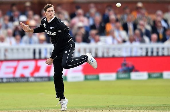 Mitchell Santner, first-choice spinner for New Zealand.