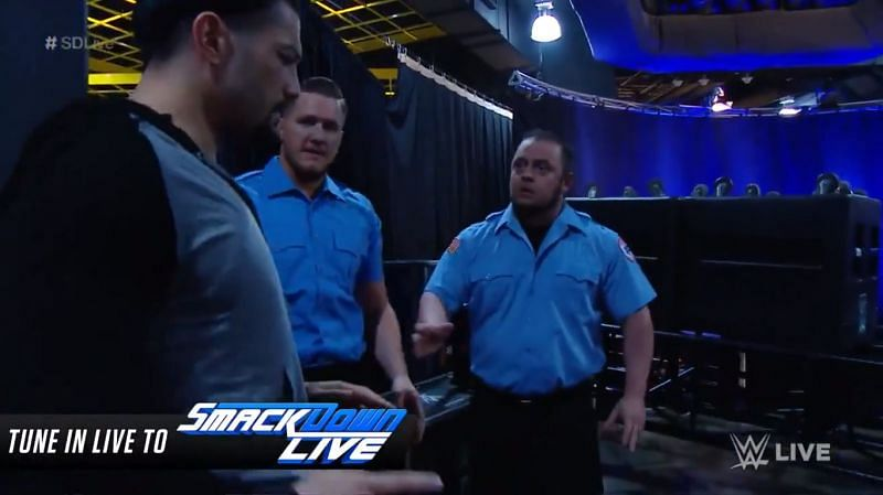 Roman Reigns was ambushed by persons unknown on SmackDown Live