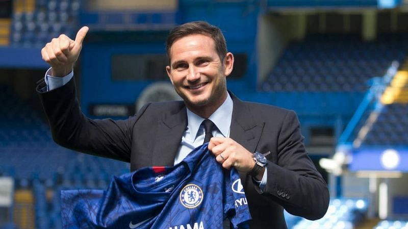 Chelsea have named Frank Lampard as their manager.