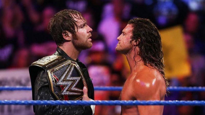 Dean Ambrose vs Dolph Ziggler from 2016