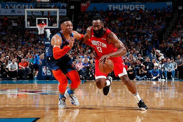 Can James Harden and Russell Westbrook Put Houston in the Championship picture?