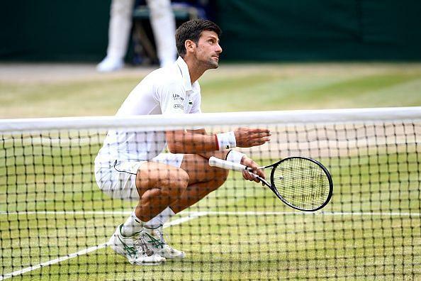 Djokovic after winning Wimbledon Championship 2019
