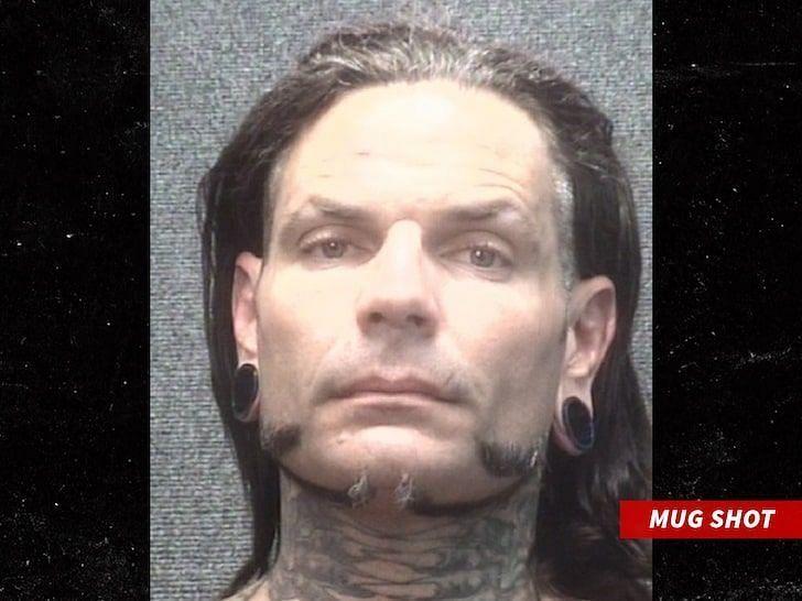गिरफ्तार होने के बाद जैफ हार्डी