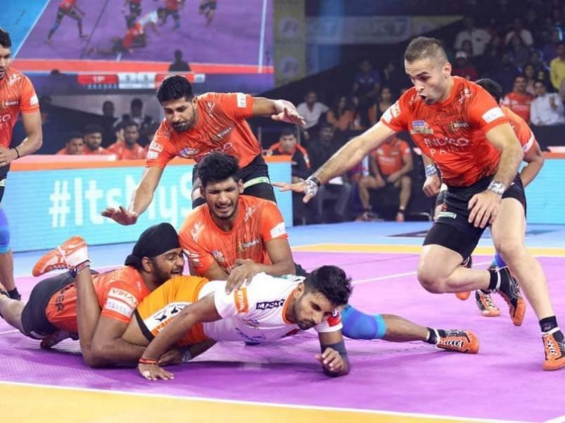 Bengaluru Bulls snatched the victory from the hands of U Mumba