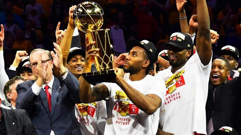 Kawhi is now a two-time NBA champion, having led the Toronto Raptors to their first championship in June