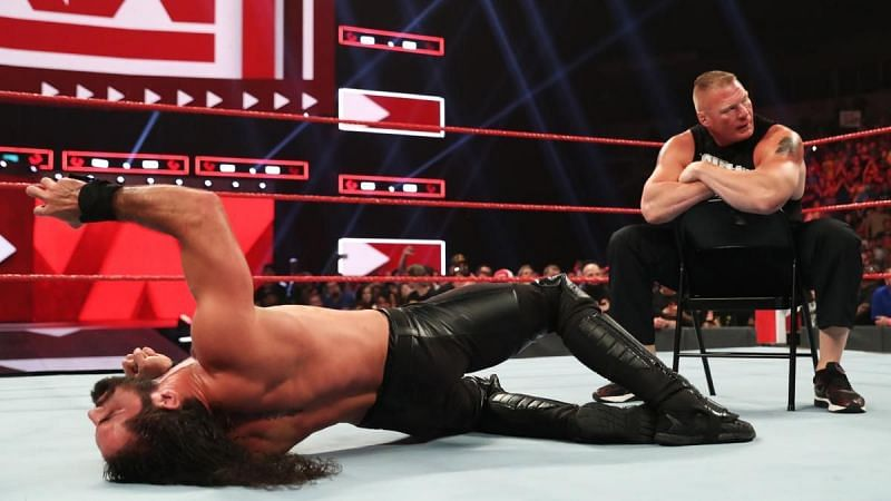 Seth Rollins was brutalized.