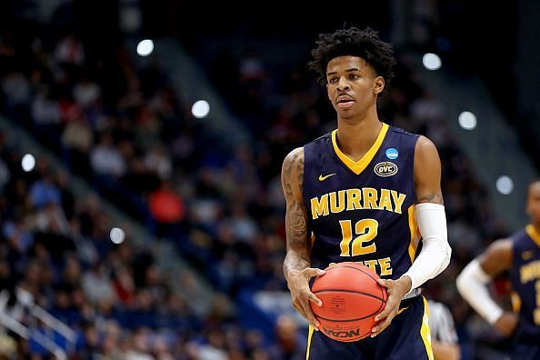 Ja Morant is among the exciting young players that won