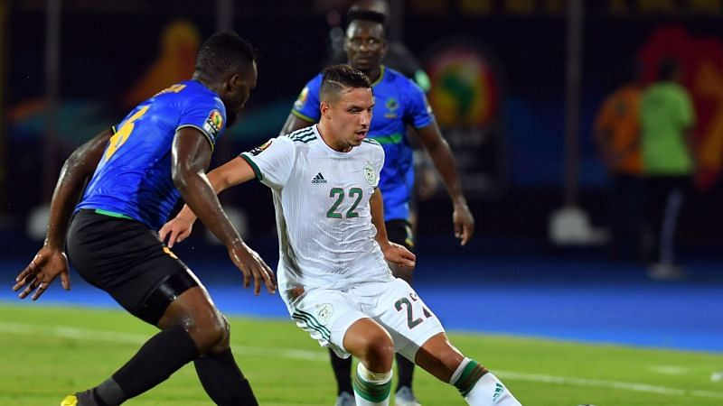 Bennacer was named the best player of AFCON Group Stage fixtures.