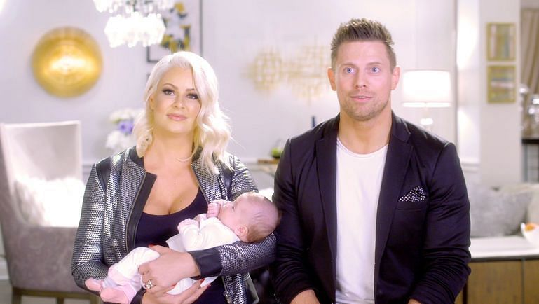 Maryse announced that she was pregnant with her daughter live on Raw