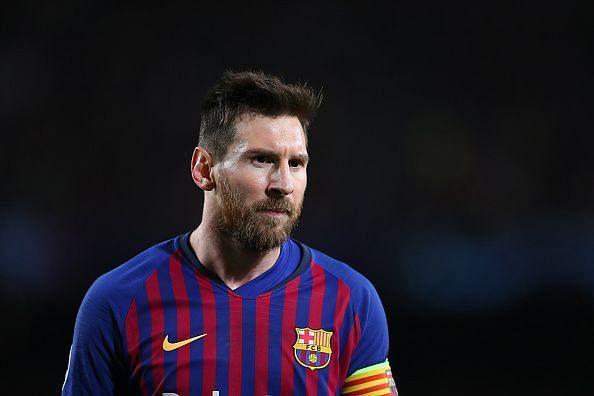 Lionel Messi delivered impressive performance last season