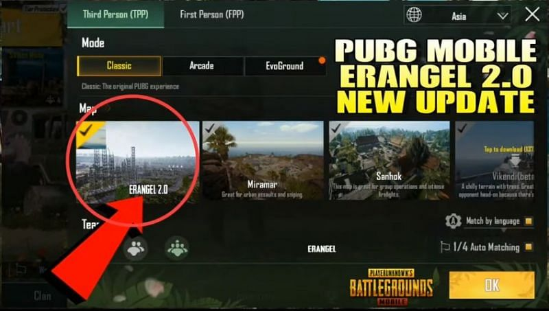 Erangel 2.0 is coming to PUBG Mobile