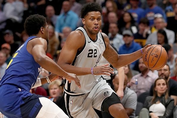 Rudy Gay has become an important player for coach Popovich