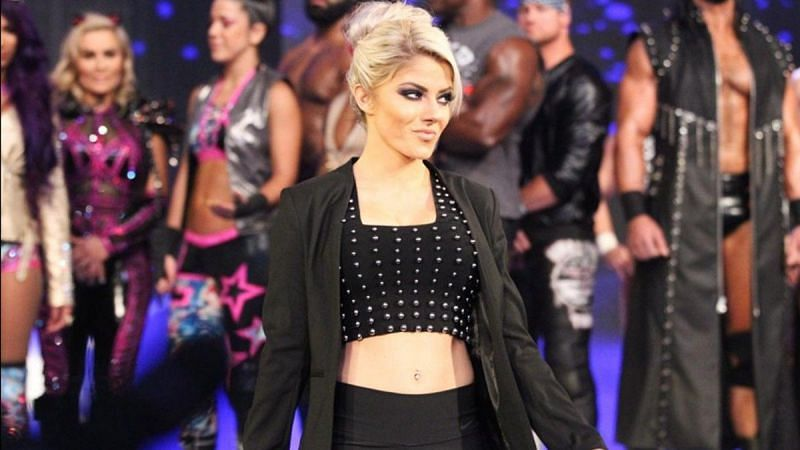 Alexa Bliss needs to be added to the RAW Women