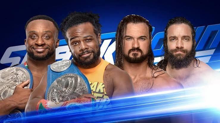 Woods and Big E vs. McIntyre and Elias