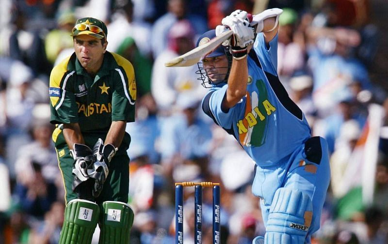 The Little Master was at his belligerent best during the World Cup 2003