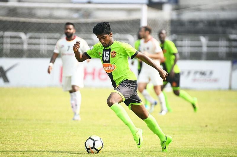 The 23-year-old has represented Gokulam Kerala in 30 matches and scored two goals.