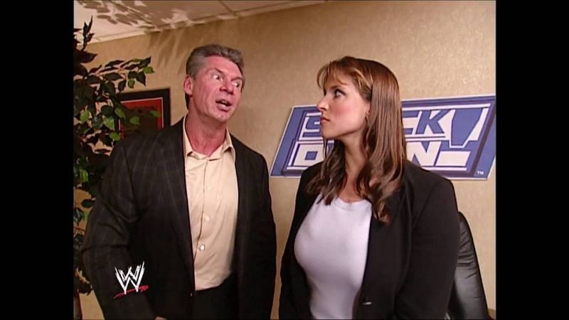 Vince and Stephanie
